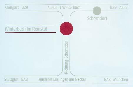 gaestehaus raisch in winterbach im remstal bei schorndorf. Black Bedroom Furniture Sets. Home Design Ideas